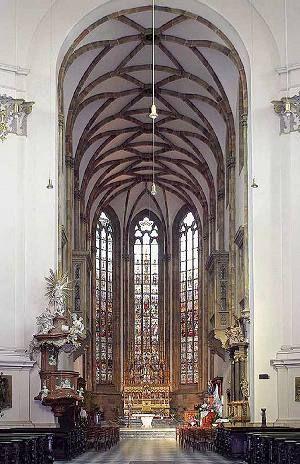 interiér katedrály Sv. Petra aPavla
