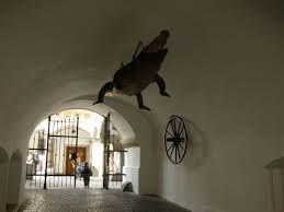 Stará radnice - drak akolo